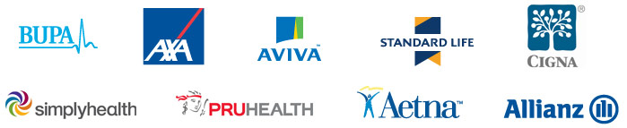 logos of major insurers